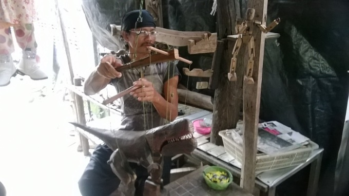 The Puppet Master of Koh Kred Island