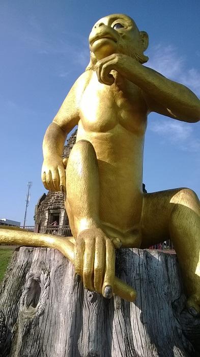 Thailand Lopburi Monkeying around in Lopburi,Thailand