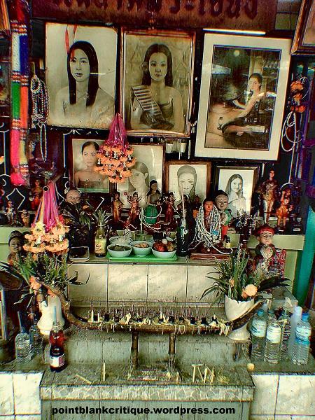 The Shrine of Mae Nak A Thai Ghostly legend