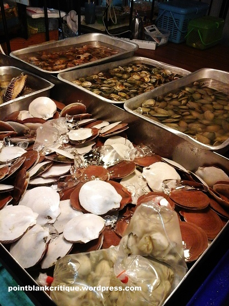 Seafood on a budget pattaya beach seafood