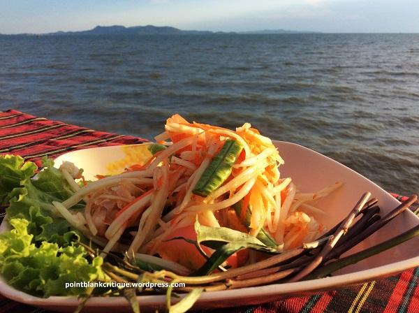 Pattaya beach seafood