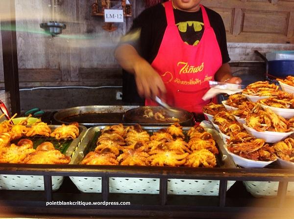 Seafood on a budget pattaya beach seafood