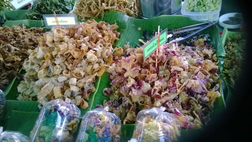 Thai Food Flowers in Thai Cooking