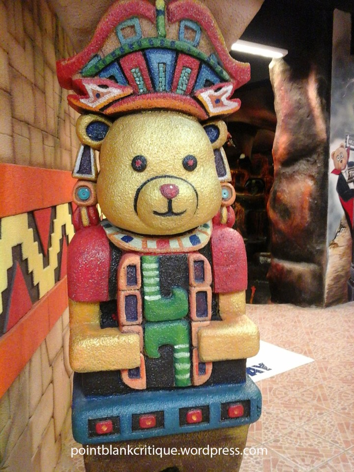 Aztec guard bear