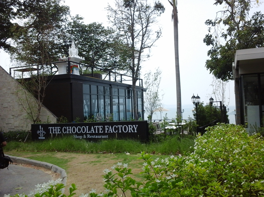 Pattaya Thailand Chocolate indulgence by the sea
