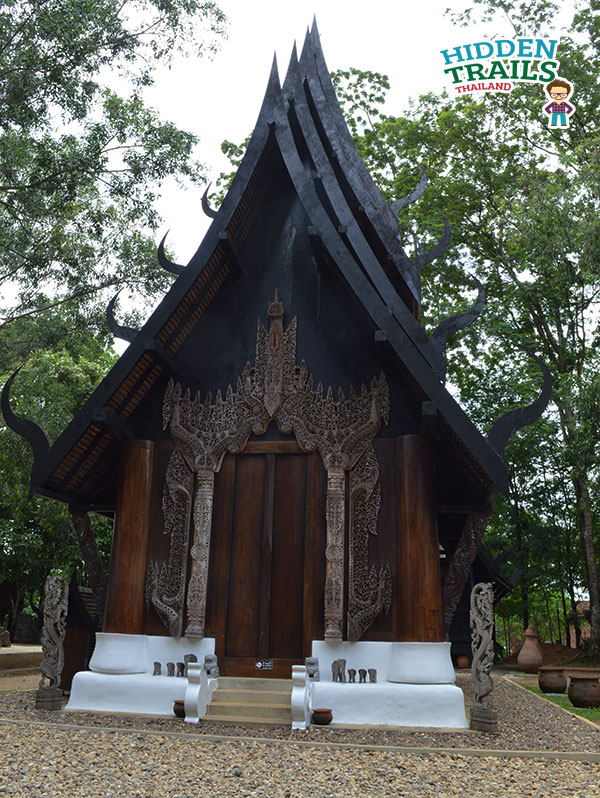 Baandam gallery and museum Chiang rai