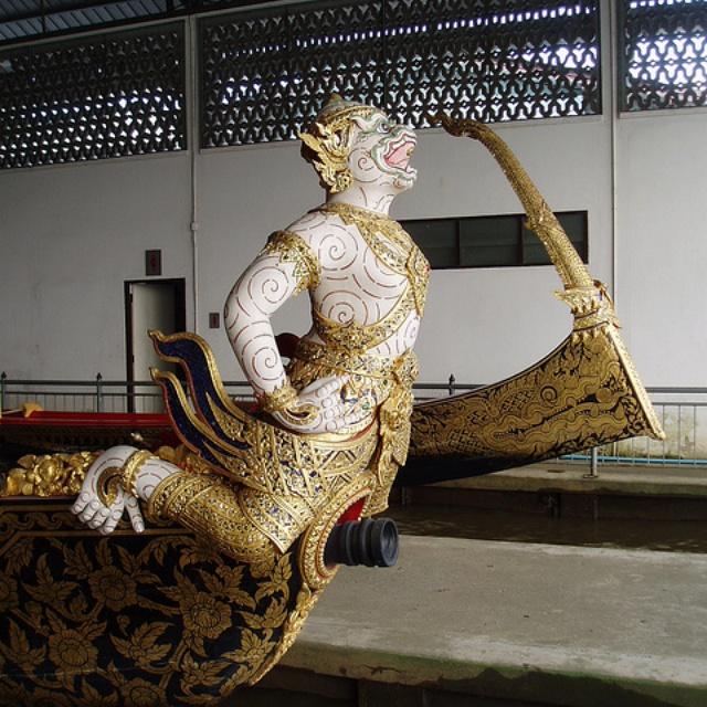 Amazing Thai craftmanship at the Royal Barge National Museum Bangkok
