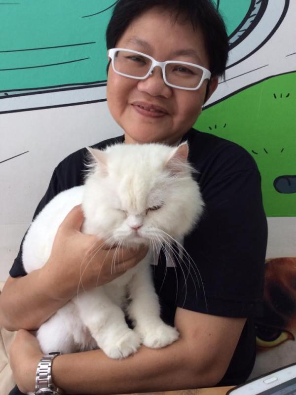 Bangkok Thailand Fat Cat Cafe