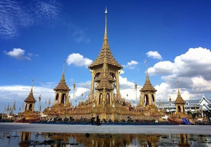 The Royal Crematorium for HM King Bhumibol