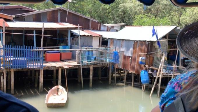 Life of a fishing village in Prasae