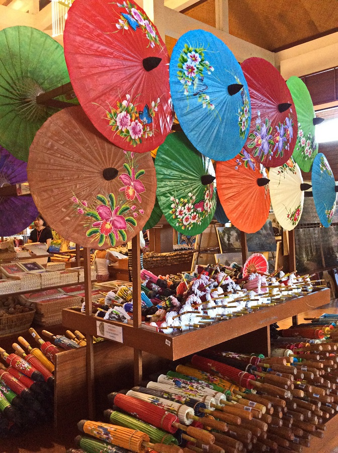 Umbrellas made for more than just the rain