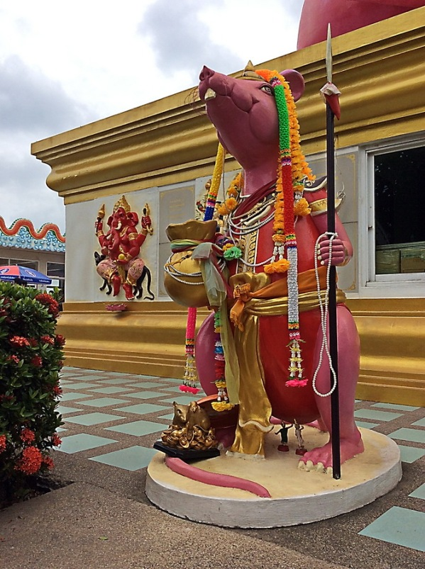The myth of Ganesha in Chachengsao Thailand